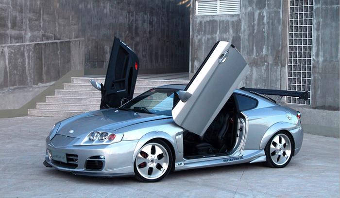 2011 Hyundai Elantra For Sale >> Fuel Door Cap Gas Cover OEM For 2003-2008 Hyundai Tiburon Coupe | eBay