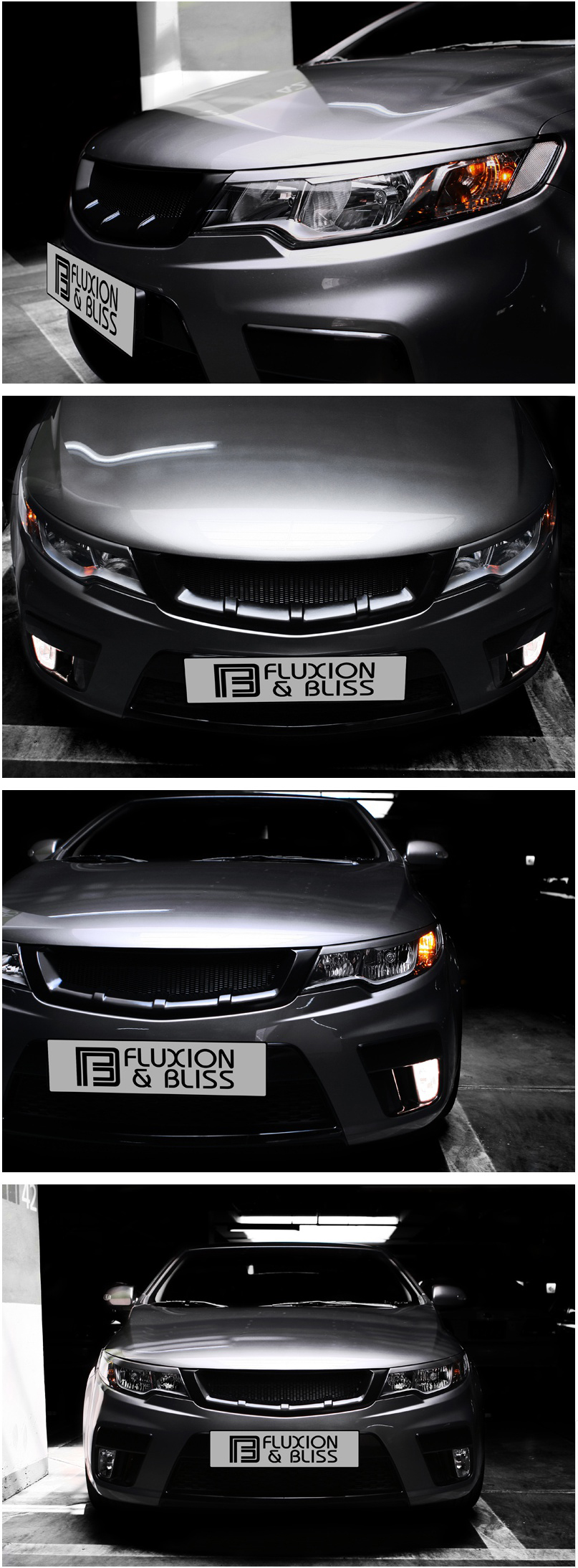 New Sports Radiator Front Grill For 09~12 Kia Forte Cerato ...