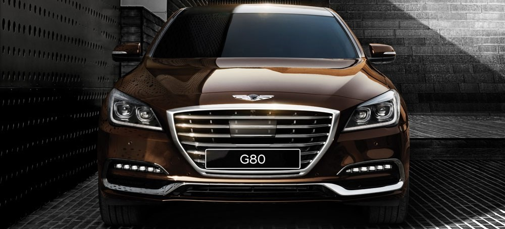 hood trunk wing g80 3 8 letter emblem badge for 2017 hyundai genesis sedan g80 ebay. Black Bedroom Furniture Sets. Home Design Ideas